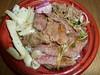米沢牛ステーキ丼@ふるさと祭り 東京