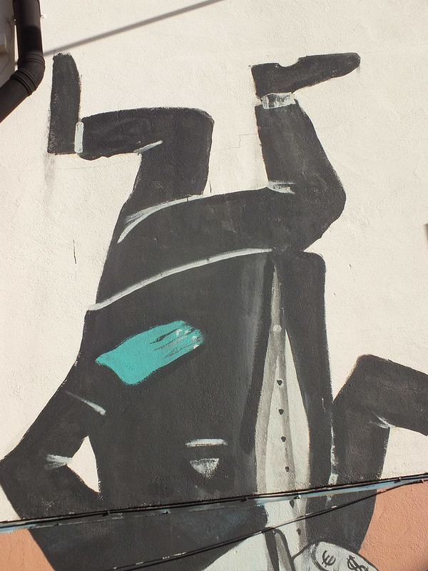 Run Graffiti and street art in Shoreditch