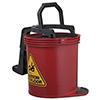 Oates Duraclean Mark II Wringer Bucket 15L Red SBKTIW008R