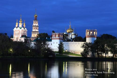 Ensemble of the Novodevichy Convent Новоде́вичий монасты́рь, Богоро́дице-Смоле́нский монасты́рь