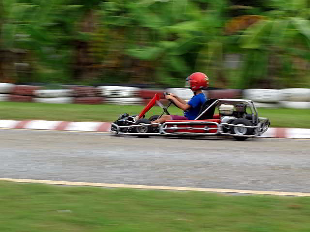 children's go kart track in pattaya