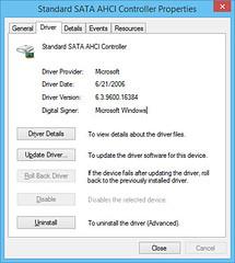 amd sata driver vs microsoft