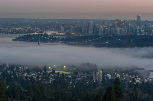 Fog Vancouver