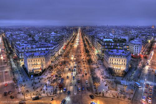 Champs-Élysées HDR