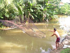 Battambang fishing