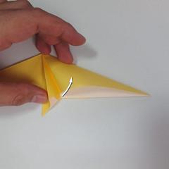สอนวิธีพับกระดาษเป็นรูปลูกสุนัขยืนสองขา แบบของพอล ฟราสโก้ (Down Boy Dog Origami) 042