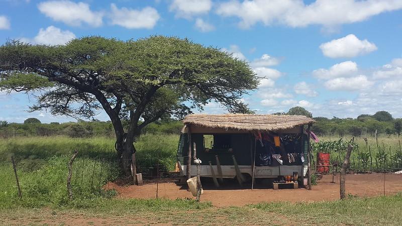 Roadside shop in Swaziland