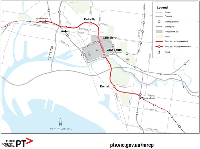 Metro tunnel plan