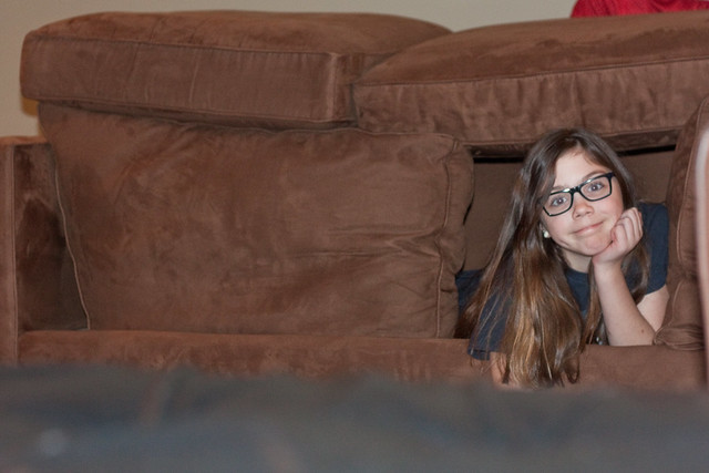 Couch forts via The Risky Kids