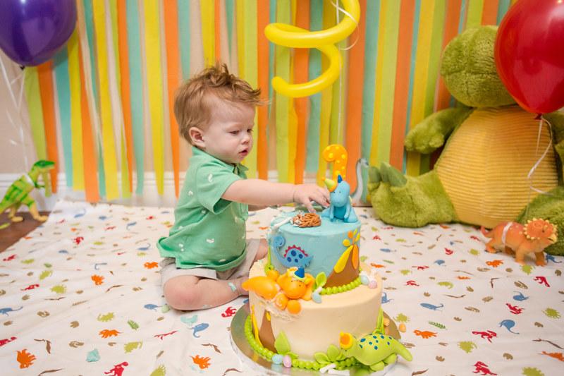 Austin Cake Smash First Birthday-0018