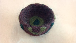 Felted bowl #2