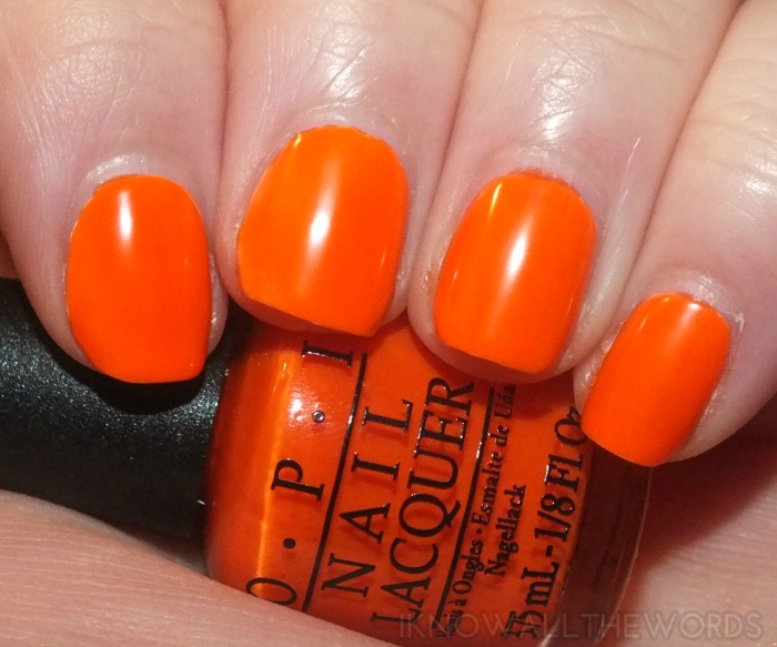 OPI Neons- Juice Bar Hopping