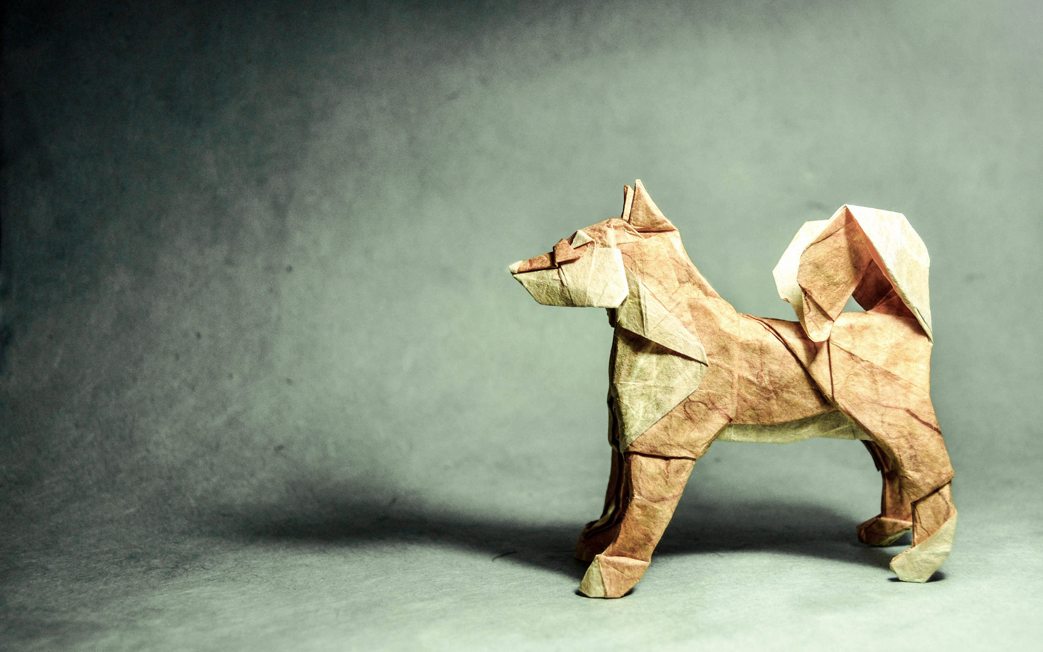 Origami Dog - Satoshi Kamiya