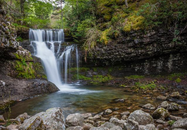 Cascada de la sierra Cebollera