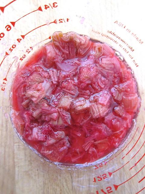 Rhubarb Vinaigrette