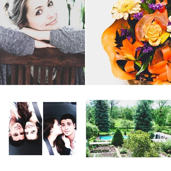 Instagram, Selfie, 8. Jahrestag, Blumen, Reinsdorf