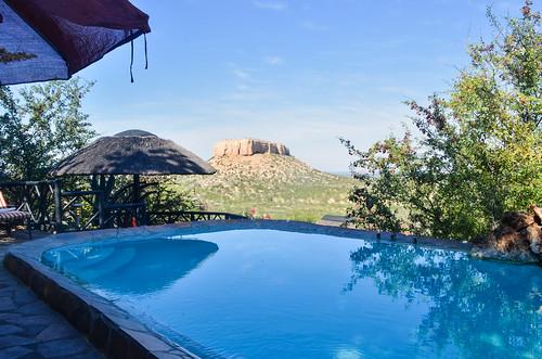 Vingerklip lodge pool