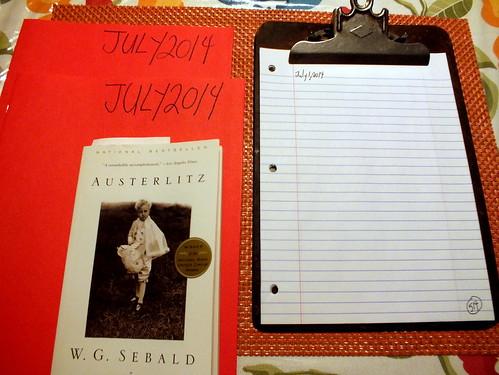 July 2014 Diary