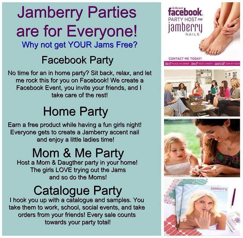 Hostess Jamberry Parties are for everyone