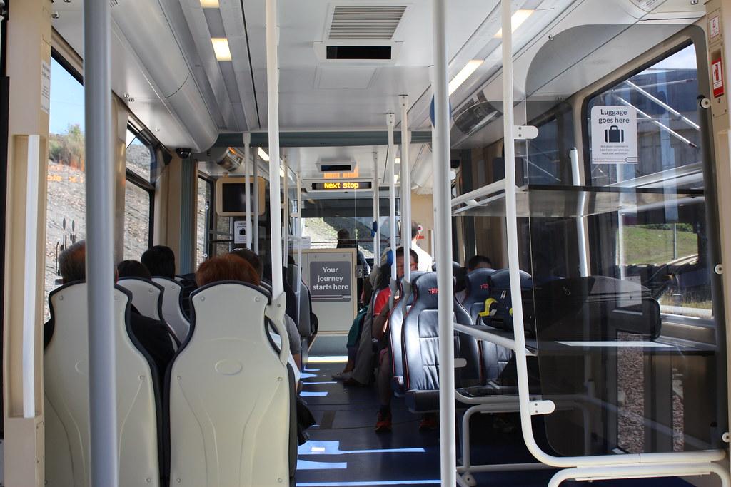 Edinburgh New Tram to city center