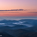 Dawn on the Blue Ridge Parkway by Wildphotography - Barry Rowan