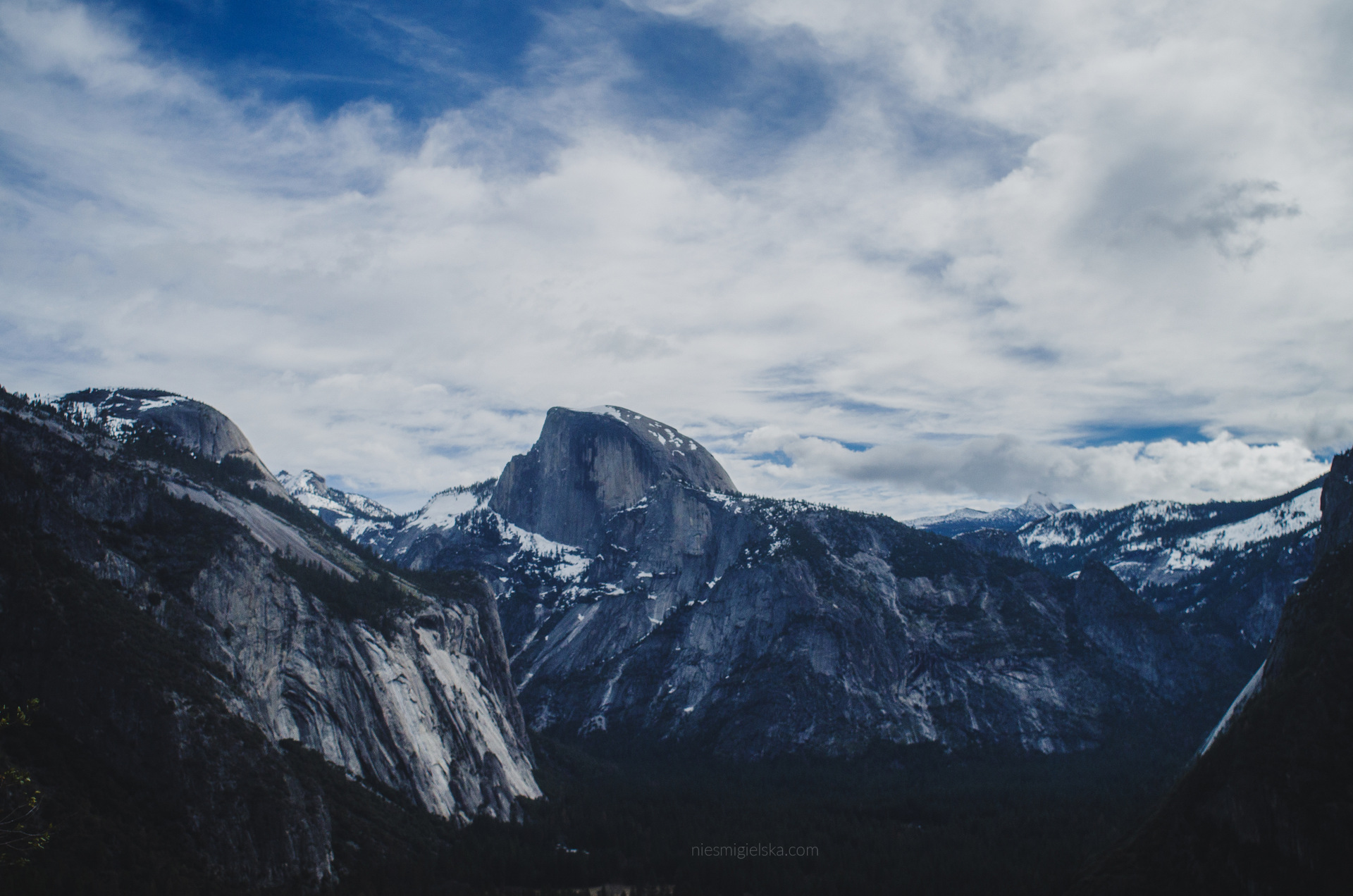 yosemite road trip usa