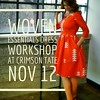 If you're following along with #agsewalong and you want to sew in community or need a little hand holding, or if you just want to make a gorgeous dress for yourself, meet me at @crimsontate in Indianapolis on Saturday, Nov 12 for a full-day workshop. Clic