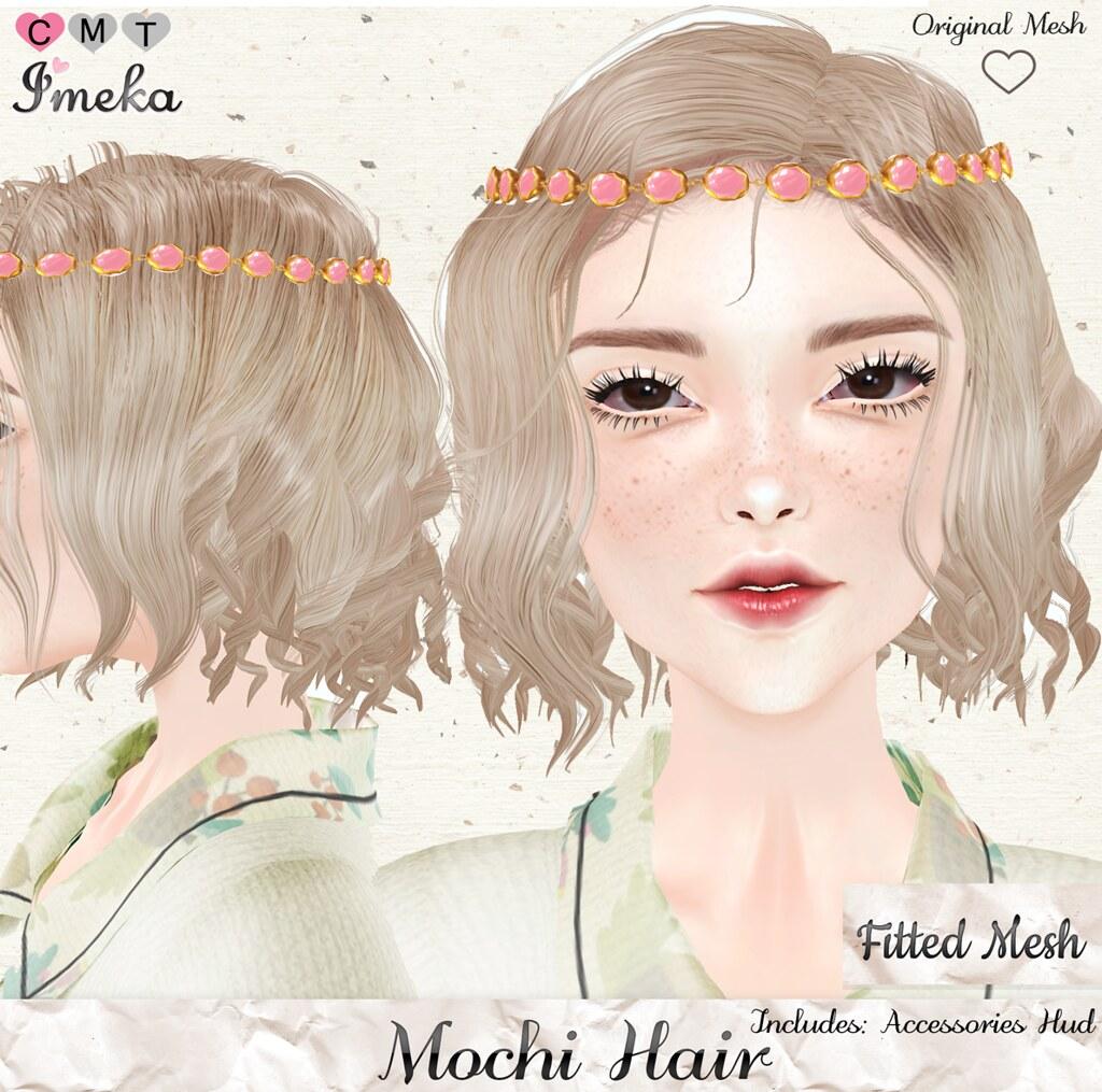 {Imeka} Mochi Hair @ The Kawaii Project - SecondLifeHub.com
