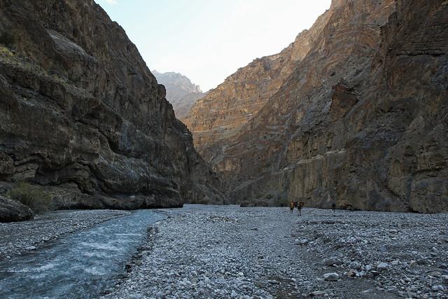 1. Views, Wading Through Zumlung Chu, Tomto 3800m To Beyond Nyari Narsang 4000m, Zanskar, State Of Jammu and Kashmir, India