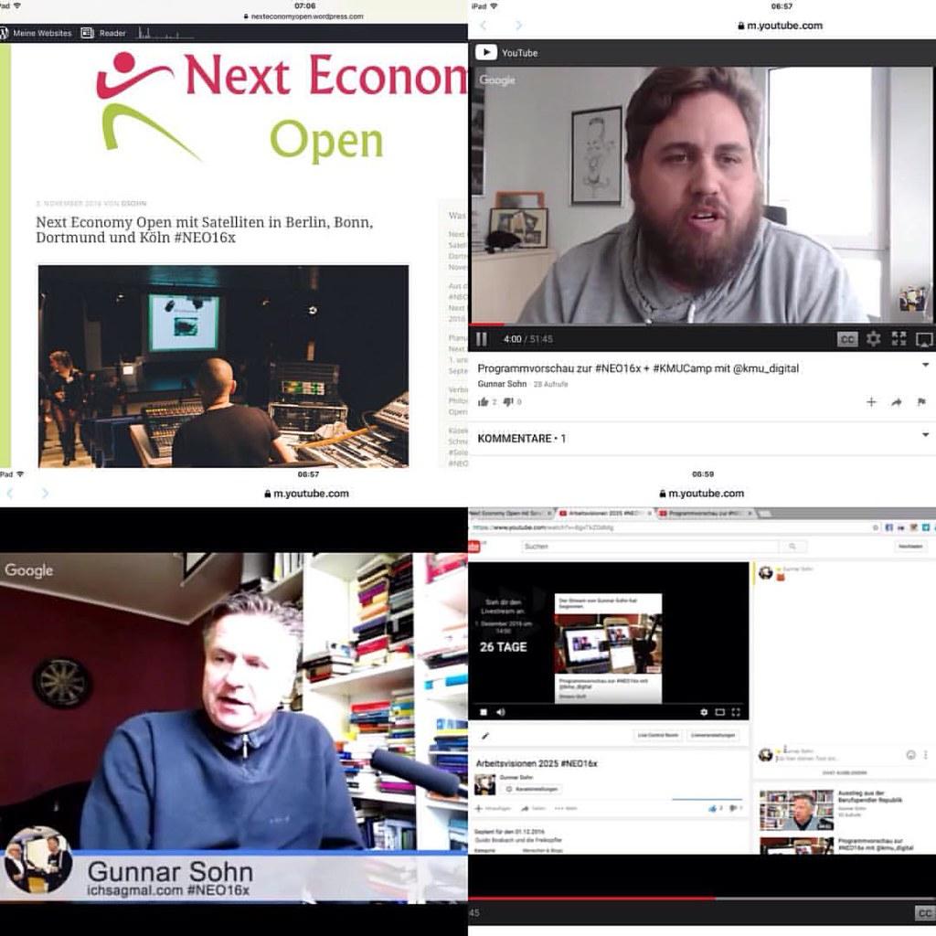 Erklärbar-Sendung zur Next Economy Open am 1. und 2. Dezember #NEO16x https://nexteconomyopen.wordpress.com/2016/11/03/next-economy-open-mit-satelliten-in-berlin-bonn-dortmund-und-koeln-neo16x/