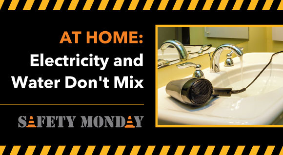Safety Monday Electricity at home hero