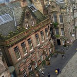 The Royal Mile from the Camera Obscura