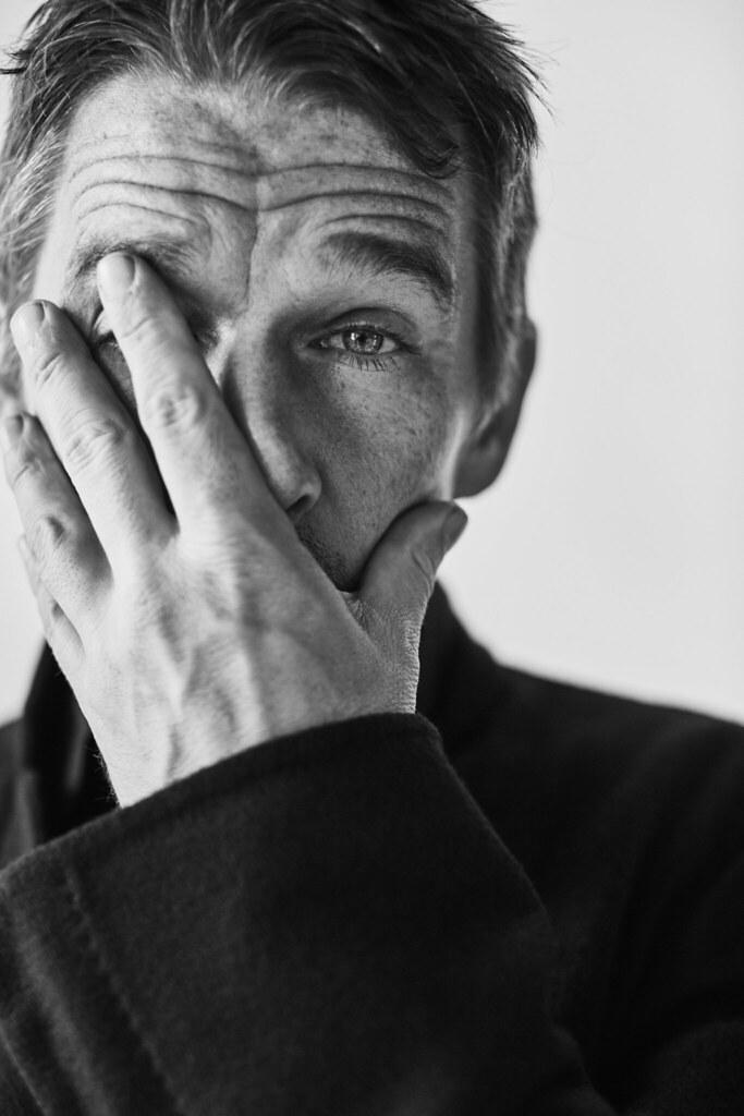 Итан Хоук — Фотосессия для «Port» 2016 – 6