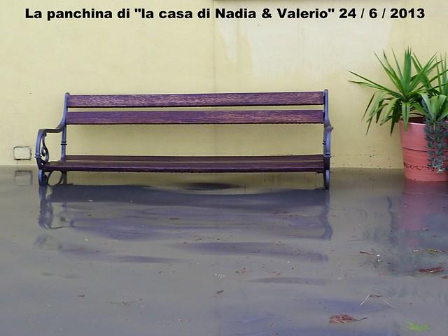 """La panchina di """" la casa di Nadia & Valerio """""""