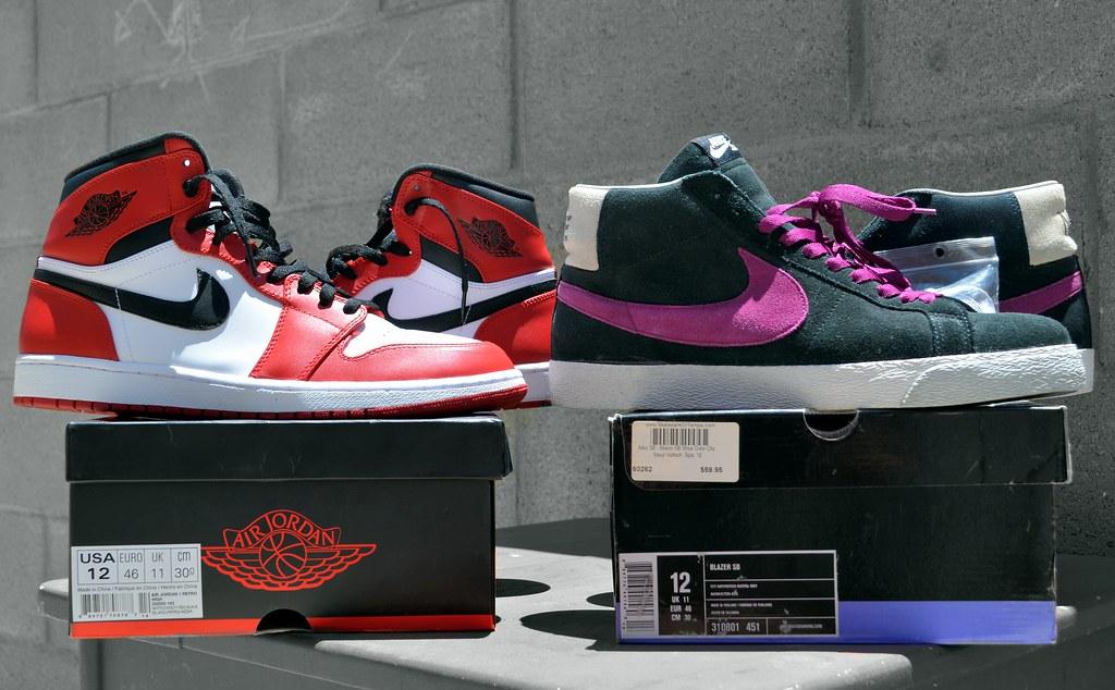 Jordan Retro 1s   Nike SB Viotech Blazers  3c1181f22