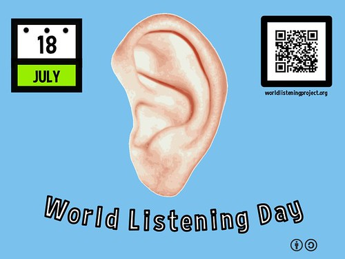 July 18 is World Listening Day @World_Listening @MidwestSocAE