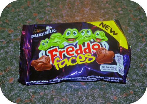 Cadbury's Freddo Faces