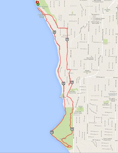 Today's awesome walk, 6.67 miles in 2:02 by christopher575