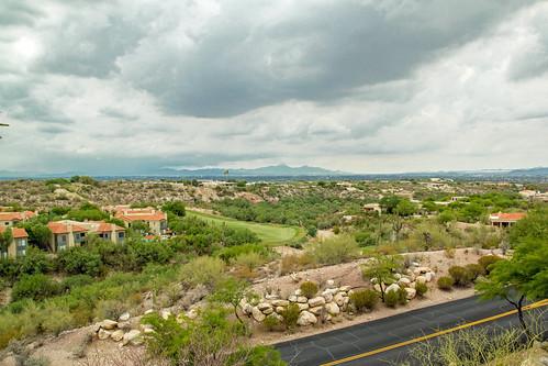 arizona day view tucson cloudy room az resort patio spa roomwithaview westin lapaloma