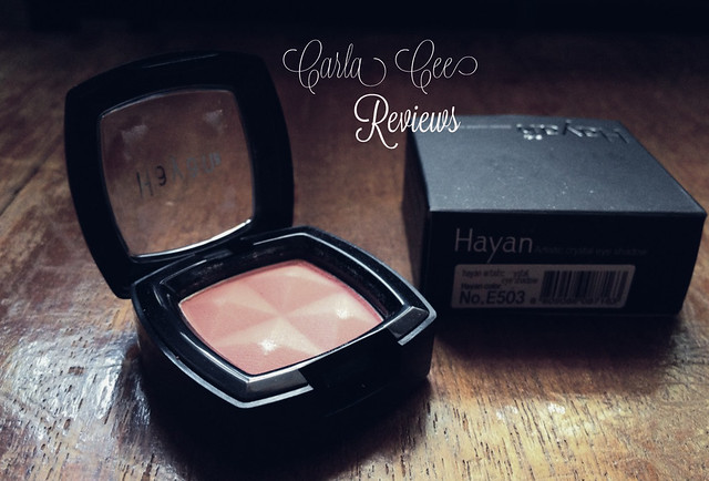 Hayan Korea Artistic Crystal Pink Eyeshadow Review