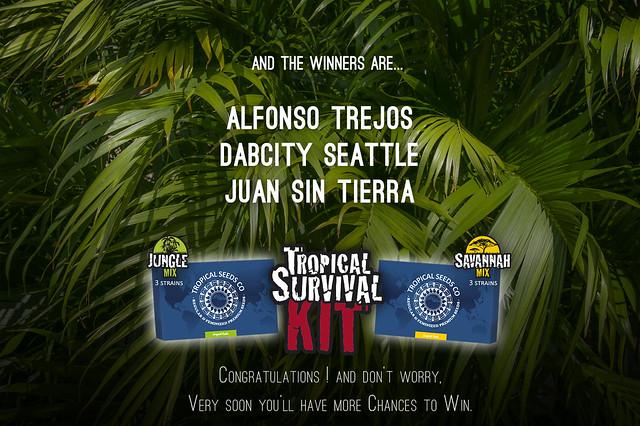 Winners Tropical Survival Kit