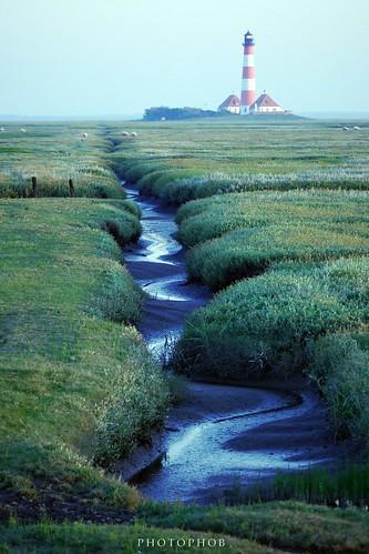 Lighthouse Westerhever - Landscape