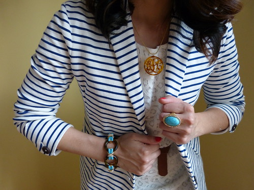 stripes + scallops