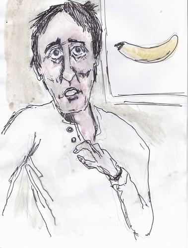 Sketch of Matt Taylor