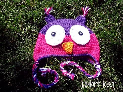 Owl hat 1