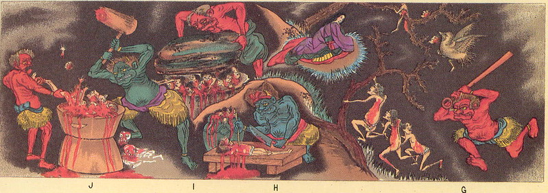 Japanese Buddhist Depiction Of Hell - 3