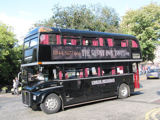 Ghost bus? Edinburgh tour bus
