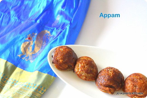 Appam - wheat flour