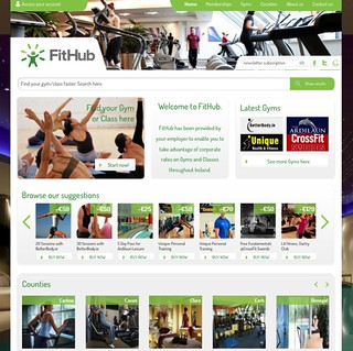 FitHub Screenshot
