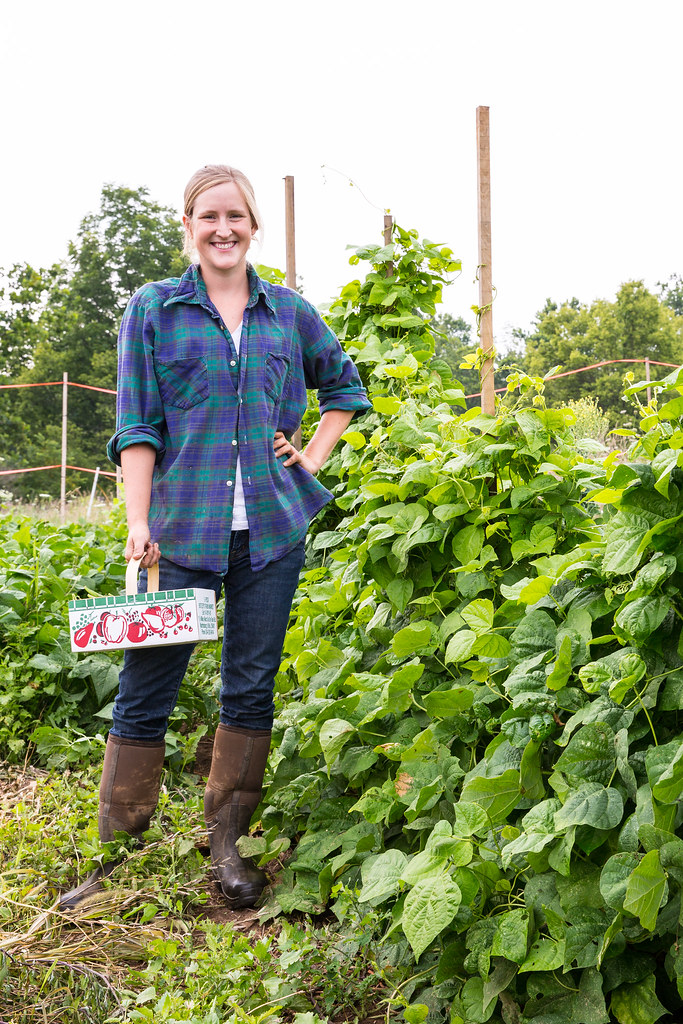 Leslie Randall from Green Gate Farm CSA in Shepherdstown West Virginia